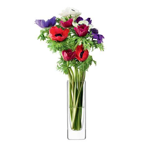 rectangular flower vase lsa flower rectangular vase 19cm leekes