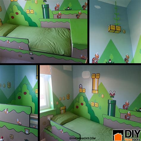 Diy Kids Bedroom | diy mario kids bedroom ideas