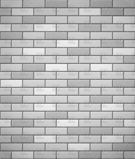 Brick Big 6 Complete wall of white and gray brick royalty free vector clip