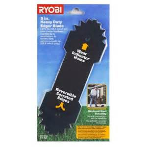 home depot edger blades ryobi 9 in replacement edger blade ac04215 the home depot
