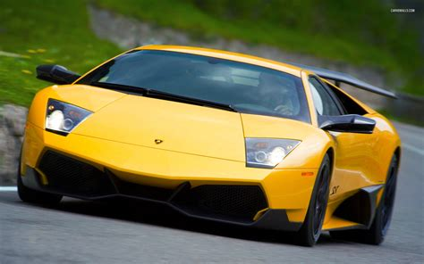 yellow lamborghini wallpaper yellow lamborghini murcielago wallpaper image 395