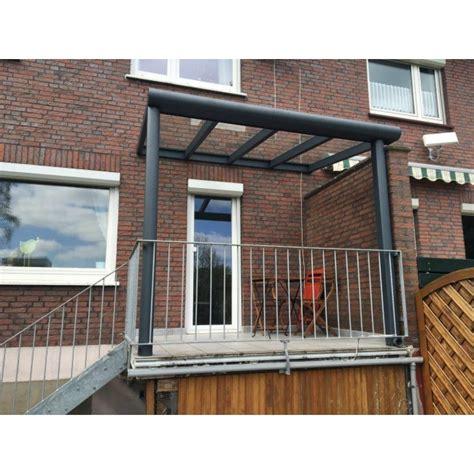 balkon berdachung balkon dach bausatz aluminium berdachung by with
