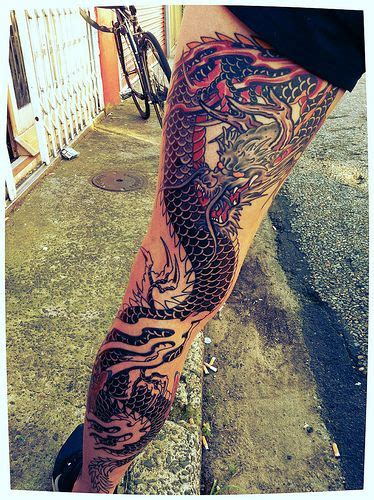dragon tattoo designs for legs 17 best ideas about tattoos on