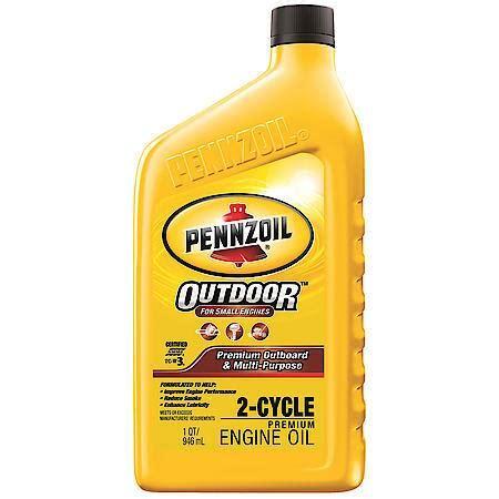 buy pennzoil premium   cycle tc  outboard engine oil  quart   advance auto parts