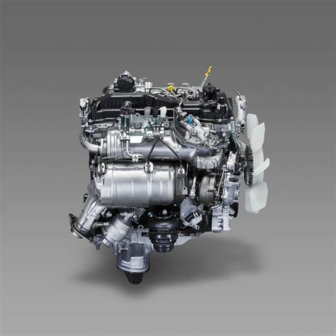 Toyota Diesel Engines by Toyota Details Its New Gd Family Of Turbo Diesels W