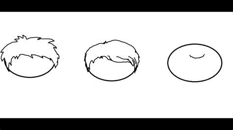 drawing 6 boy hairstyles by marryrdbsongs youtube how to draw cartoon hair for boys youtube
