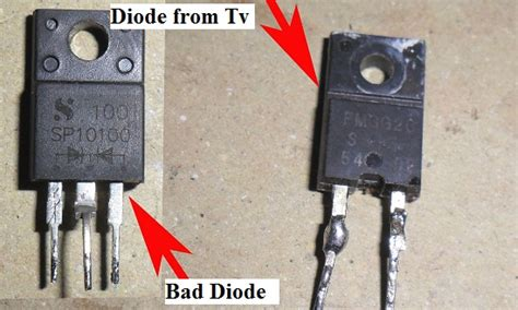 how to check if diode is shorted hp lcd monitor no power repaired tips and trick electronic