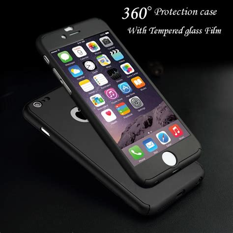 Armor 360 Protective Soft Back Iphone 5 5s Se Cover 360 degree protection cover show logo for iphone 5 5s se 6 6s 7 plus 6s plus