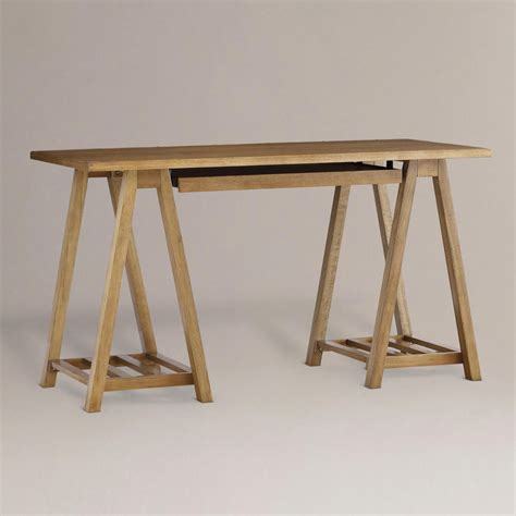 sawhorse desk my best friend craig guest post and debbie of live laugh decorate on dreamy home