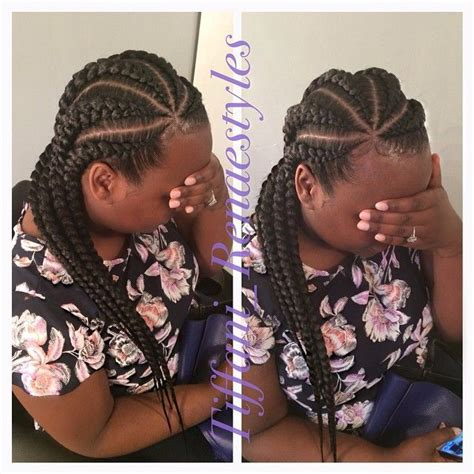 natural hair big braids 19 more big cornrow styles to feast your eyes on black