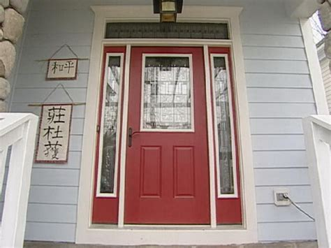 Bloombety Front Red Door Paint Colors Front Door Paint Painting A Front Door Tips