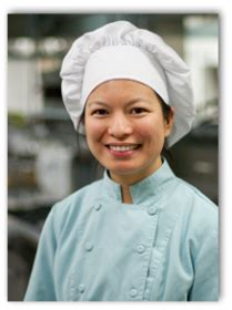 culinary arts professor serves up success in work life