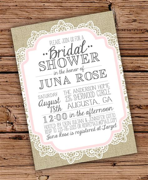 Make Your Own Bridal Shower Invitations by Make Your Own Bridal Shower Invitations Marialonghi