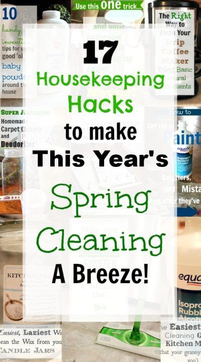 spring cleaning hacks 17 housekeeping hacks to make spring cleaning a breeze