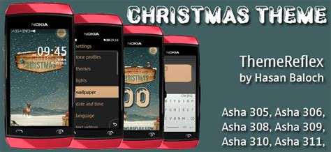 christmas themes for nokia asha new year 2014 themes themereflex