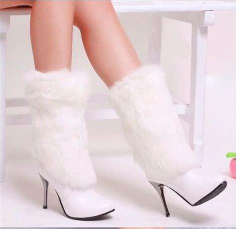 imagenes de botas blancas botas blancas de mujer