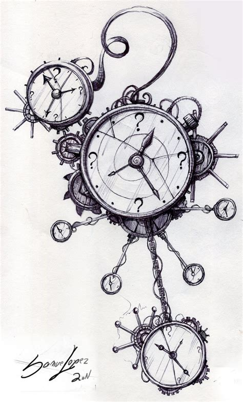 clockwork time machine by samirl on deviantart
