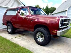1979 Dodge Ram For Sale 1979 Dodge Ramcharger 318 V8 Auto For Sale In Wilmington Nc