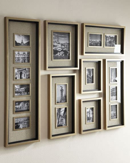 photo montage wall massena collage picture frame gallery neiman