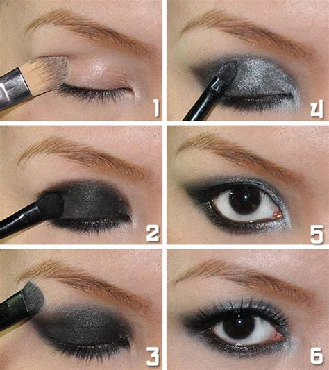 how to apply awesome smokey eyeshadow