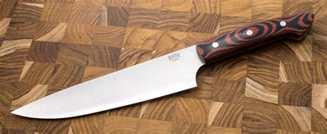 bark river kitchen knives bark river knives 8 quot chef s knife