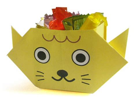 Origami Cat Box - origami cat box level easy the home of craft