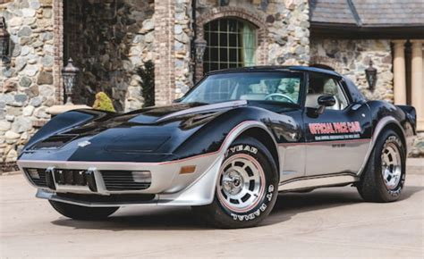 Indy 500 Corvette by Collection Of Indy 500 Corvette Pace Cars To Auction Gm