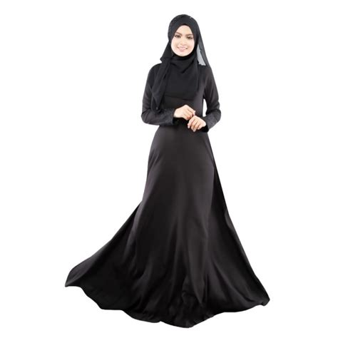 Maxi Dress Muslim Dress Wanita Baty Maxi muslim s clothes kaftan islamic sleeve arab jilbab abaya maxi dress ebay
