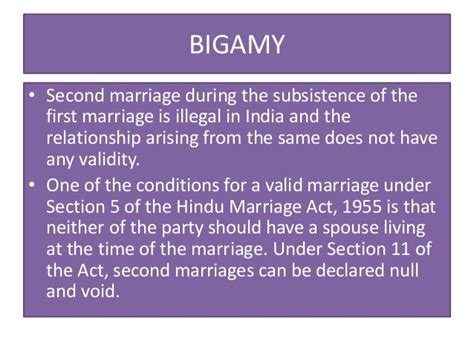 hindu marriage act section 5 concepts of crime by prof arvind nath tripati dsnlu
