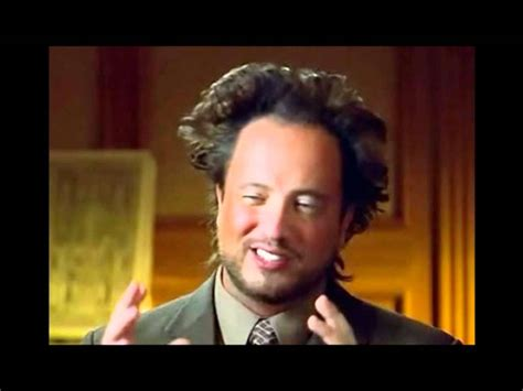 Aliens Meme Guy - giorgio tsoukalos how come youtube