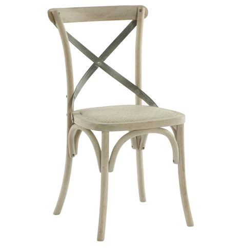 Metal And Wood Dining Chairs Pair Kasson Country Cafe Wood Metal Dining Chair Kathy Kuo Home