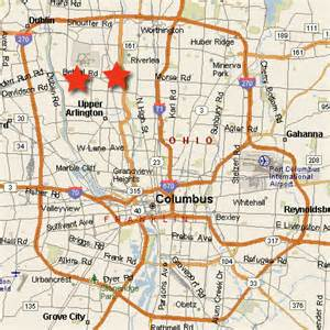 where is columbus on a map columbus ohio map ohioriver map ohiostate map 点力图库