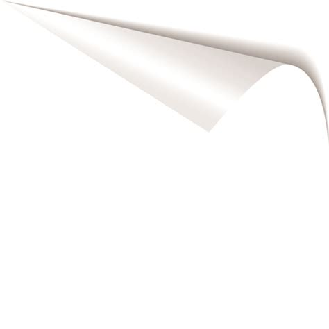 Paper Corner Fold - white curled paper corner free vector 03 vector web