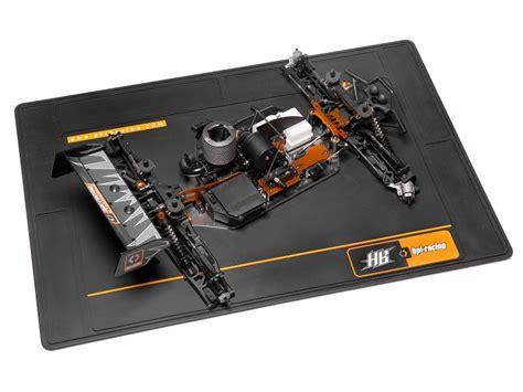 hb pits 101997 hpi hb racing pit mat large black