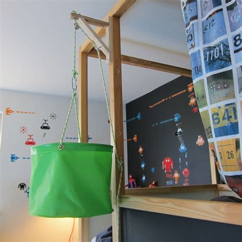 Bunkbed Pulley System Kiddos Pinterest Pulley Kids Bunk Bed Systems