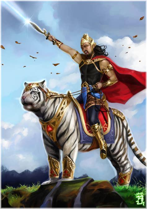 harimau putih prabu siliwangi sejarah prabu siliwangi helmi syafrizal
