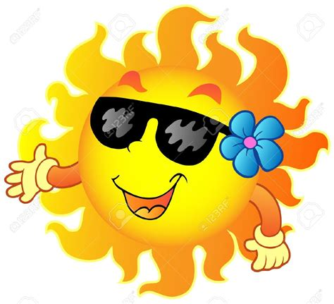 immagini clipart gratis happy summer sun clipart