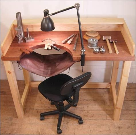 jewelry work table bench hopton and furlong jewellery makers jewellery