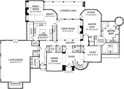 House Plans And More Clydehurst Home Plan 129s 0013 House Plans And