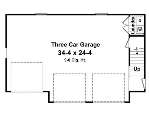 garage door floor plan garage plan 59948 at familyhomeplans