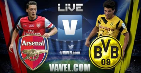 arsenal match result match result arsenal borussia dortmund live commentary