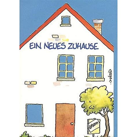 Gl 252 Ckwunschkarte Zum Einzug In Ein Neues Haus Lustig