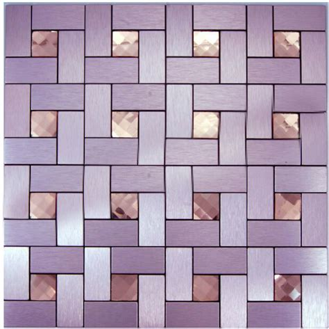 Country Kitchen Backsplash Tiles rose gold pink 11sheets lot adhesive for wall tiles