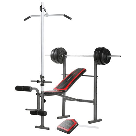 weight bench weider weider 15891 pro 290 w sears outlet