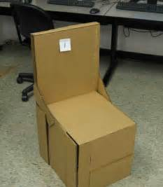 How To Make A Chair Out Of Cardboard by Students Design And Build Cardboard Chairs Watkins