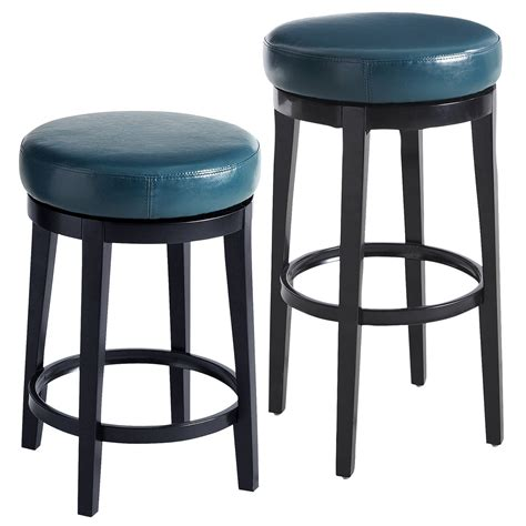Bone Inlay Chair Stratmoor Teal Swivel Bar Amp Counter Stool Everything