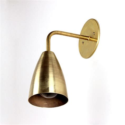 Brass Wall Sconce The Modern Lighting Of Onefortythree