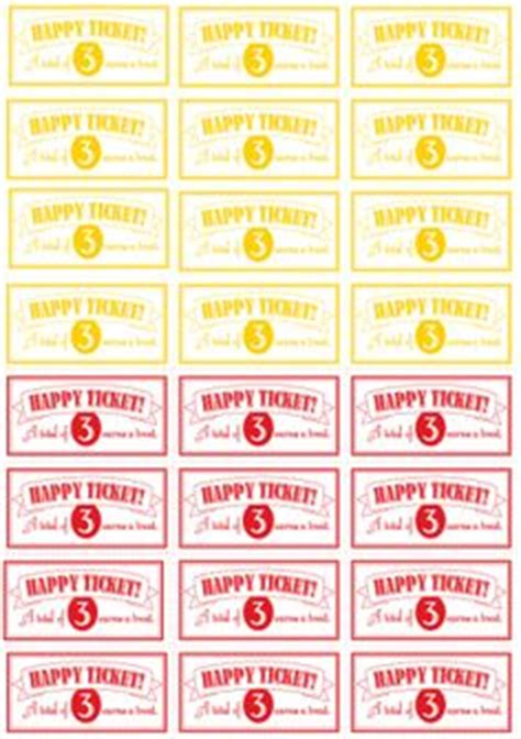 printable incentive tickets kids rewards on pinterest chore charts family chore