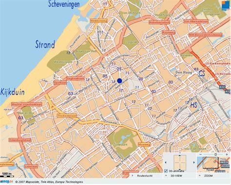 netherlands map den haag the hague map