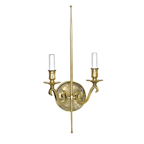 Modern Brass Wall Sconce Modern Solid Brass Arm Wall Sconce With